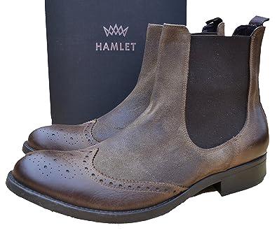 premium selection 44f3b f02e9 Hamlet Chelsea Boots Stiefel Schuhe HM 236 CD Braun / Cam ...