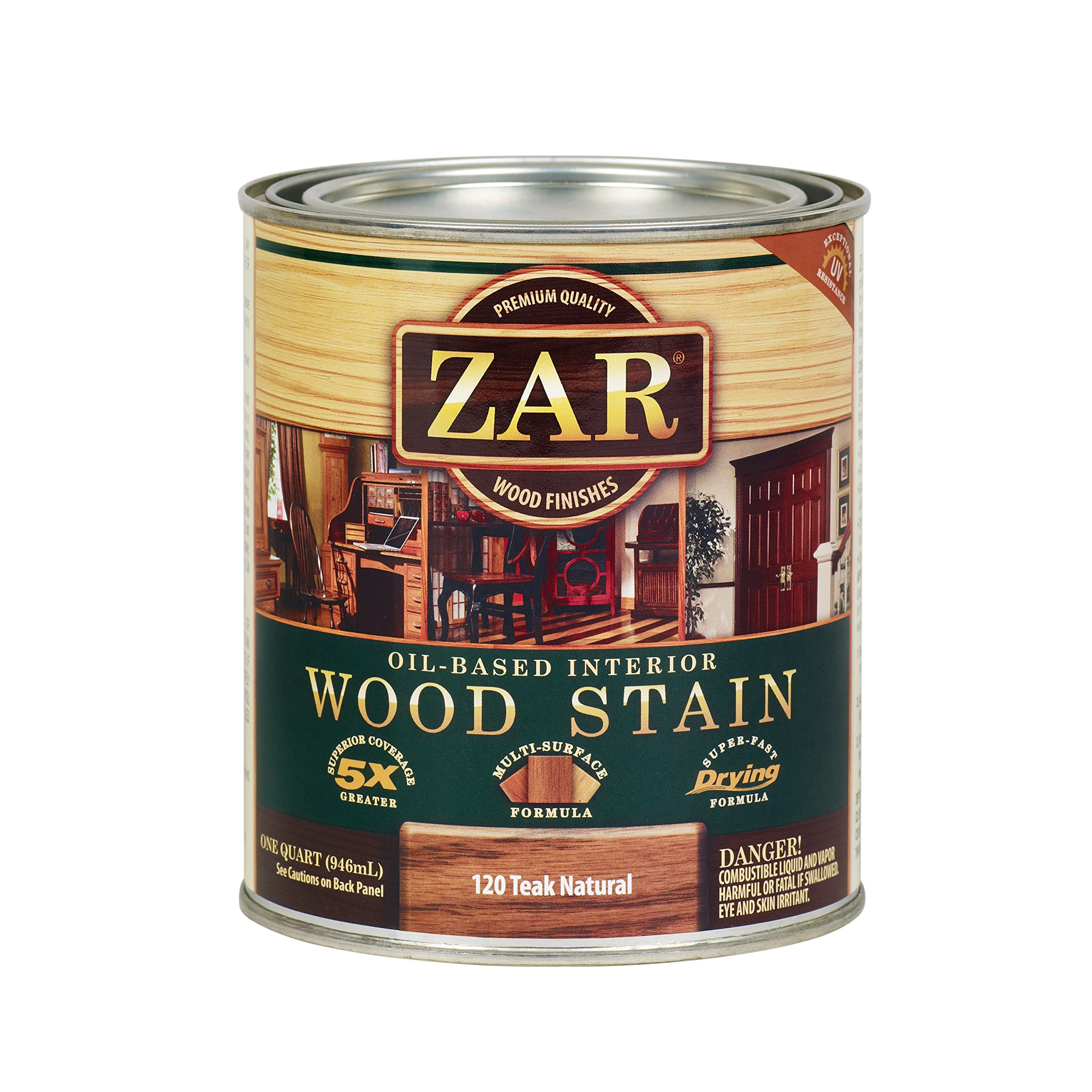 ZAR 12012 Wood Stain, Teak Natural