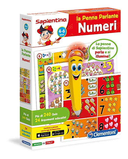 183 opinioni per Clementoni 13219- Penna Interattiva Numeri