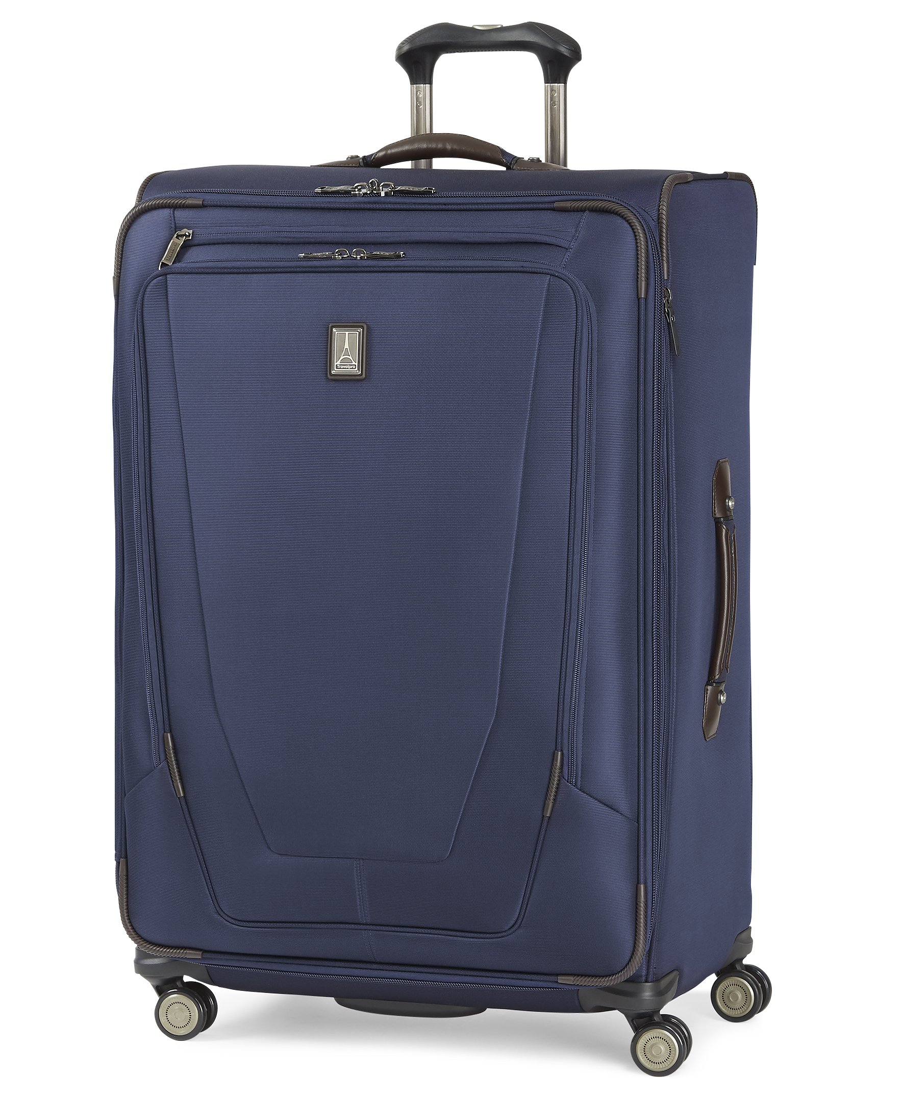 Travelpro Crew 11 29'' Expandable Spinner Suitcases, Navy by Travelpro