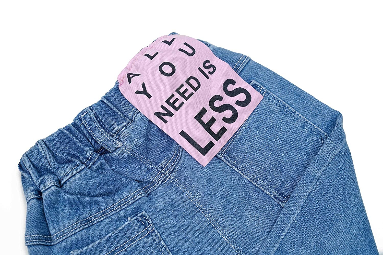 Girls Jeans Well-Crafted Good Looking Shrink Resistant Girls Jeans
