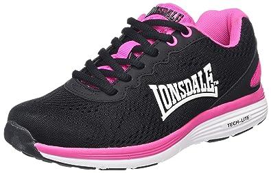 Lonsdale Lisala, Zapatillas de Deporte para Exterior para Mujer, Azul (Ocean Blue/Blue/White), 40 EU