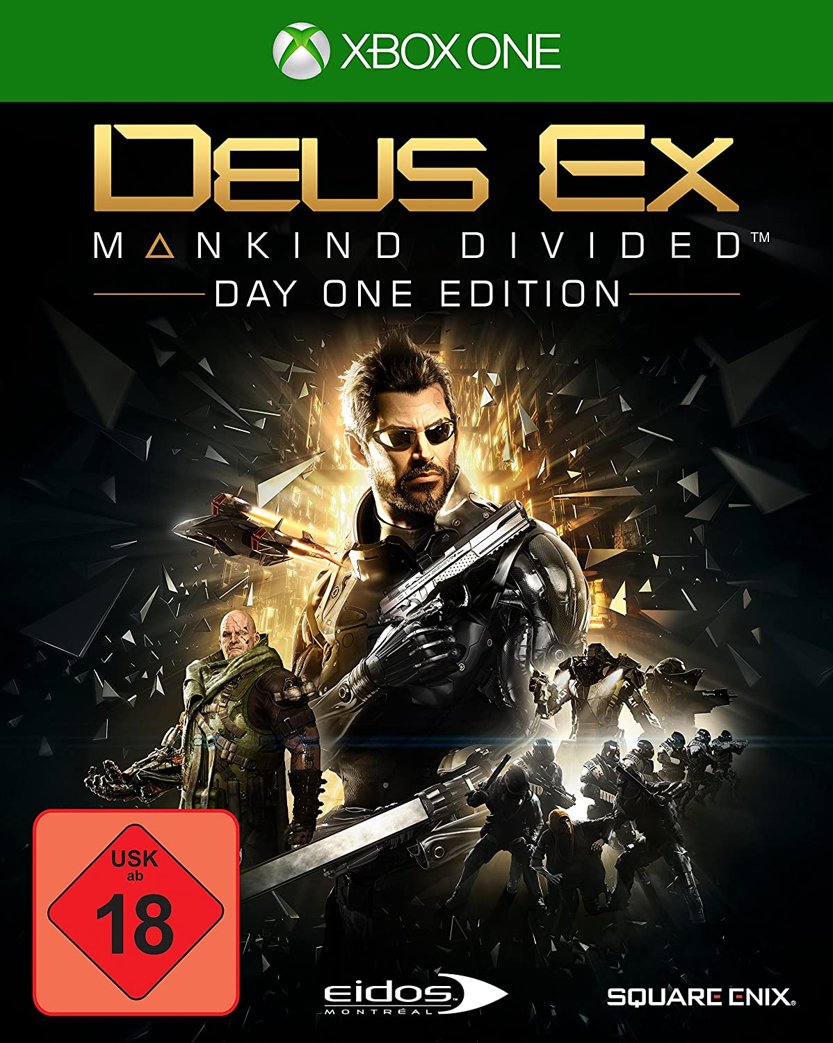 Deus Ex: Mankind Divided [Importación Alemana]: xbox one: Amazon ...