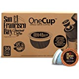 San Francisco Bay OneCup, Kona Blend, 36 Count- Single Serve Coffee, Compatible with Keurig K-cup Brewers