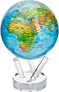 Amazon 45 blue with political map mova globe industrial 6 blue with relief map mova globe gumiabroncs Images