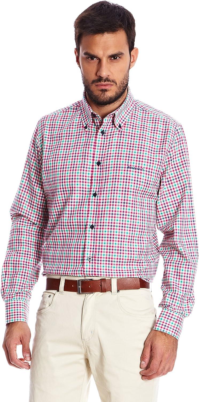 Spagnolo Camisa Hombre Rosa M: Amazon.es: Ropa y accesorios