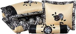 Tache Home Fashion BM-4358L-T Comforter Set, Multi