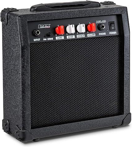 LyxPro amplificador de guitarra eléctrica de 20 W, amplificador de ...