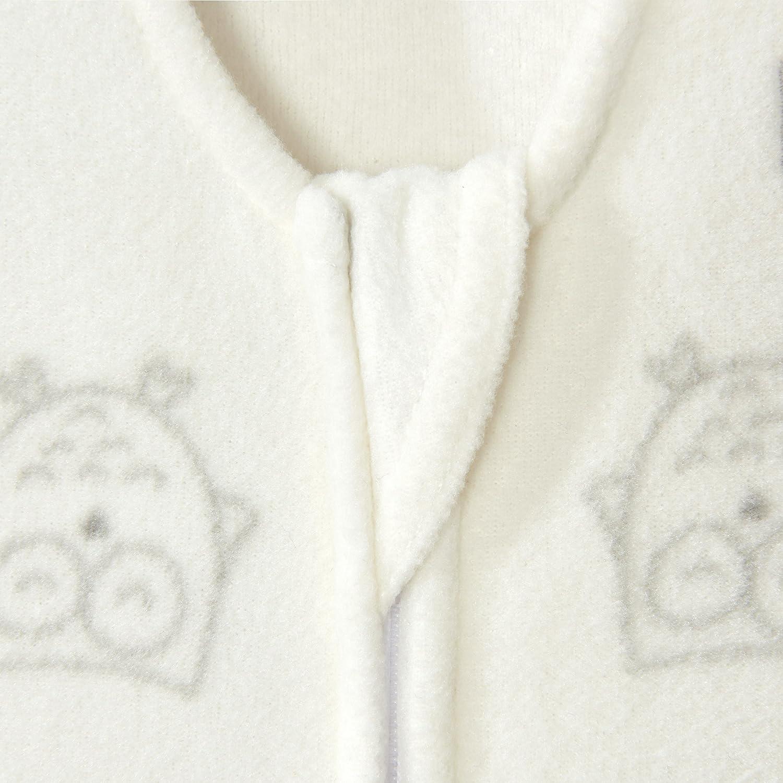 Size Med Owls Cream Halo Sleepsack Wearable Blanket Micro Fleece