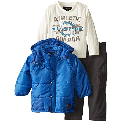 A.B.S. by Allen Schwartz Baby Boys' Blue Jacket Set with Twill Pant
