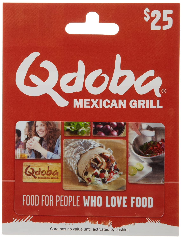 Qdoba Mexican Grill Gift Card