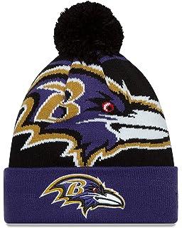 Amazon.com   NFL Baltimore Ravens Gold Collection Team Color Knit ... 7c2450a2f