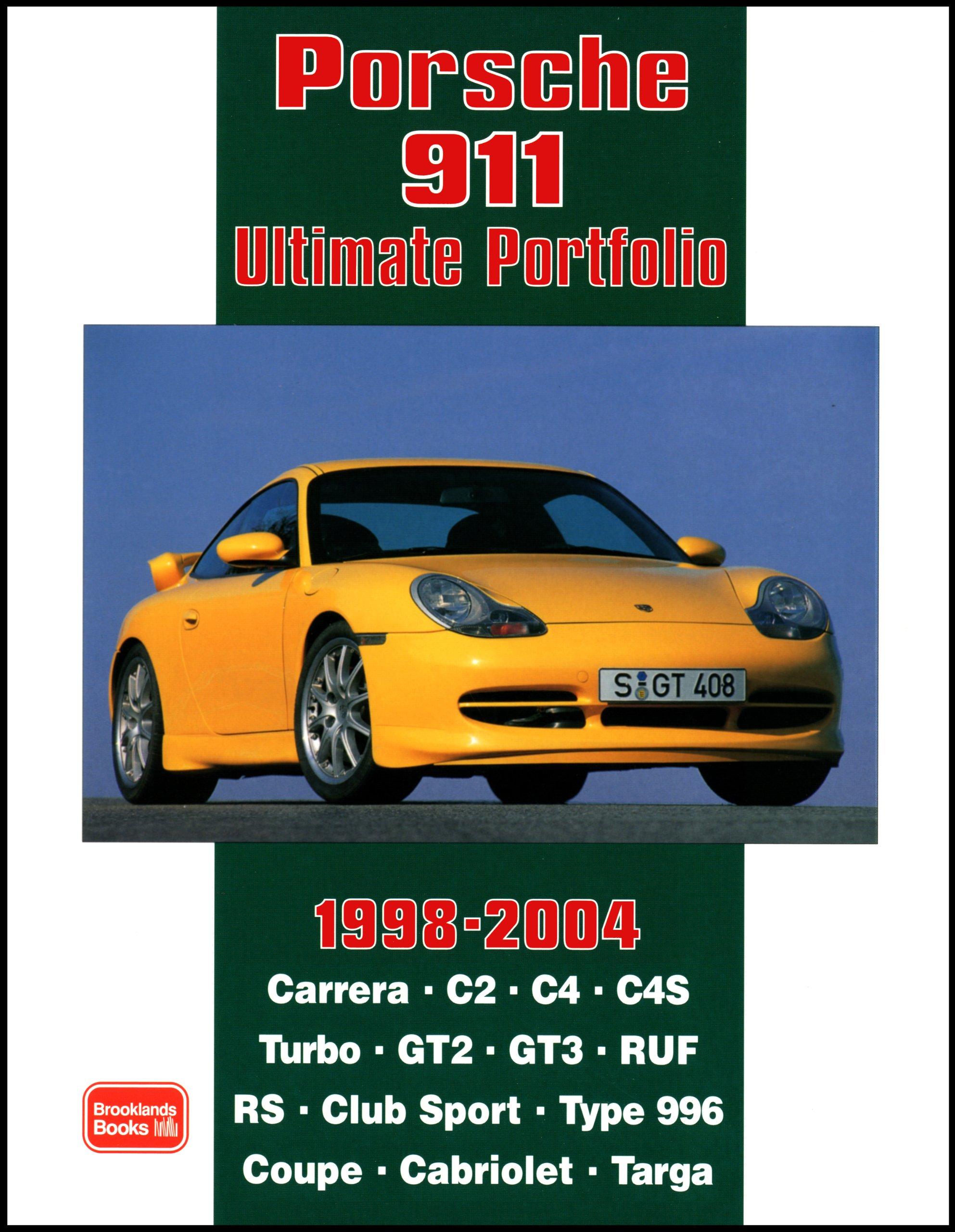 Porsche 911 Ultimate Portfolio 1998-2004: Amazon.es: R. M. Clarke: Libros en idiomas extranjeros