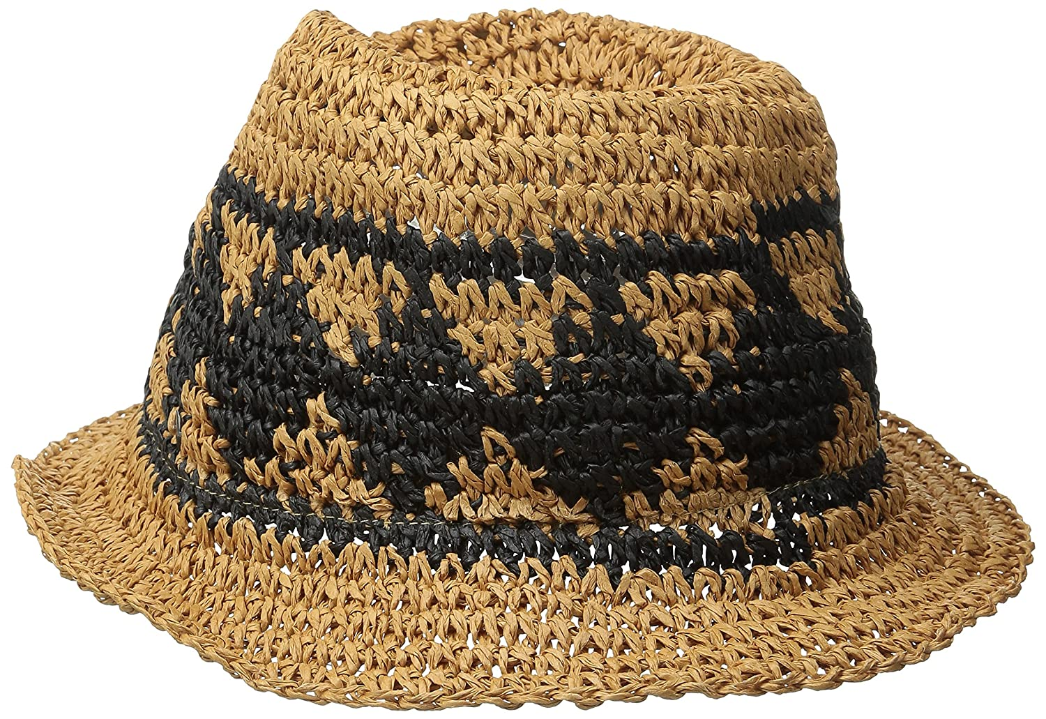 a3ae018b809d8 Volcom Junior s Ibiza Straw Fedora Hat  Amazon.in  Sports