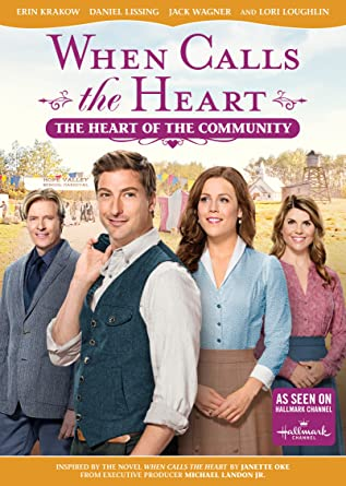 when calls the heart: heart of the community - DVD Image