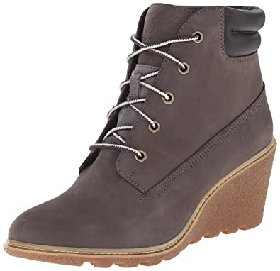timberland gris fonce femme