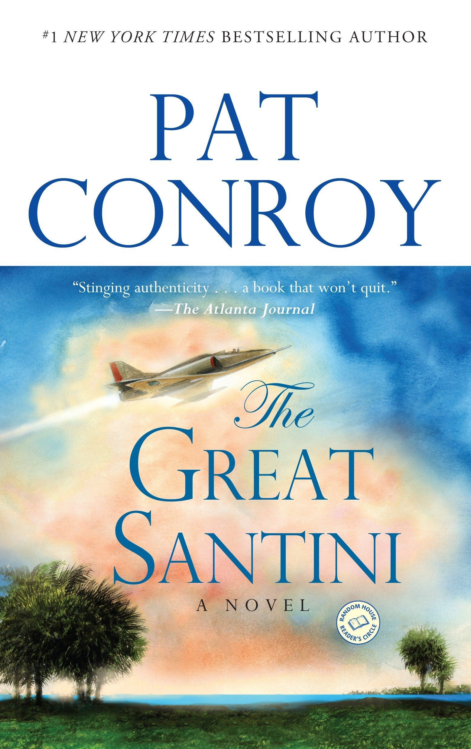 Image result for The Great Santini book cover