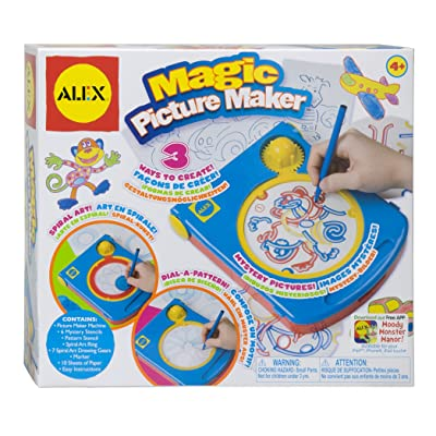 ALEX Toys Artist Studio Magic Picture Maker: Toys & Games