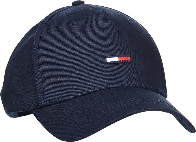 Tommy Hilfiger THD Flag Cap Gorra de béisbol, Azul (Tommy Navy 413 ...
