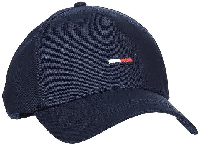 Tommy Hilfiger THD Flag Cap, Gorra de béisbol para Hombre, Azul (Tommy Navy