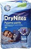 Dry Nites Mutandine assorbenti per la notte, bimbo, 4 - 7 anni (17kg - 30kg), confezione da 10 pezzi