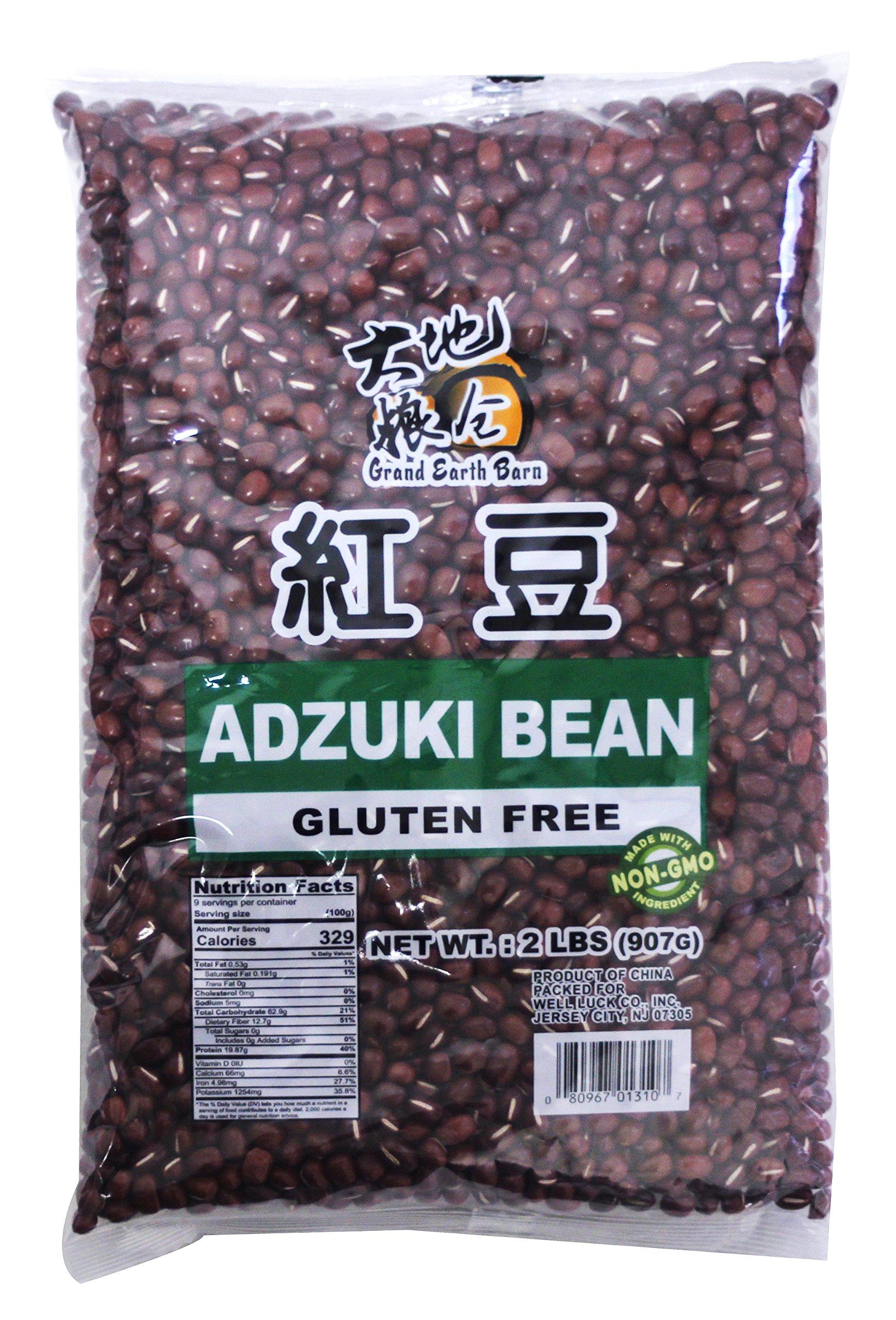 Non GMO Gluten Free Adzuki Red Beans 2 lbs