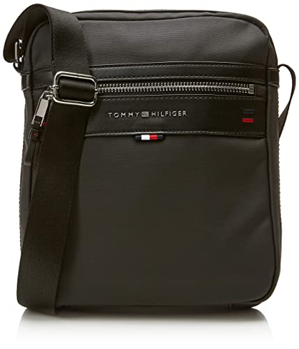 911bd4327c Tommy Hilfiger Elevated Reporter Cc, Men's Shoulder Bag, Black (Tommy  Navy/Core