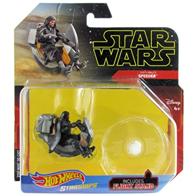 Hot Wheels Star Wars Starships Darth Maul's Speeder: Toys & Games