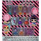 Townley Girl L.O.L Surprise! Super Sparkly Cosmetic Set with Lip Gloss, Nail Polish and Nail Stickers, 11 CT