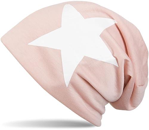 styleBREAKER gorro beanie clásico con estampado de estrella, unisex 04024038