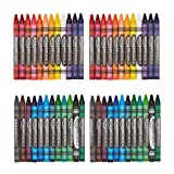 AmazonBasics Crayons - 24 Assorted Colors, 2-Pack