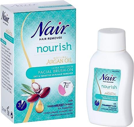 Nair Nourish Facial Brush On Hair Remover Ultra Precision