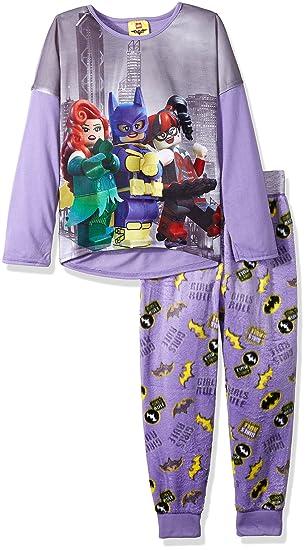 Amazon.com  LEGO Batman Girls  Little Batgirl 2-pc Pajama Set 5b65d13f3