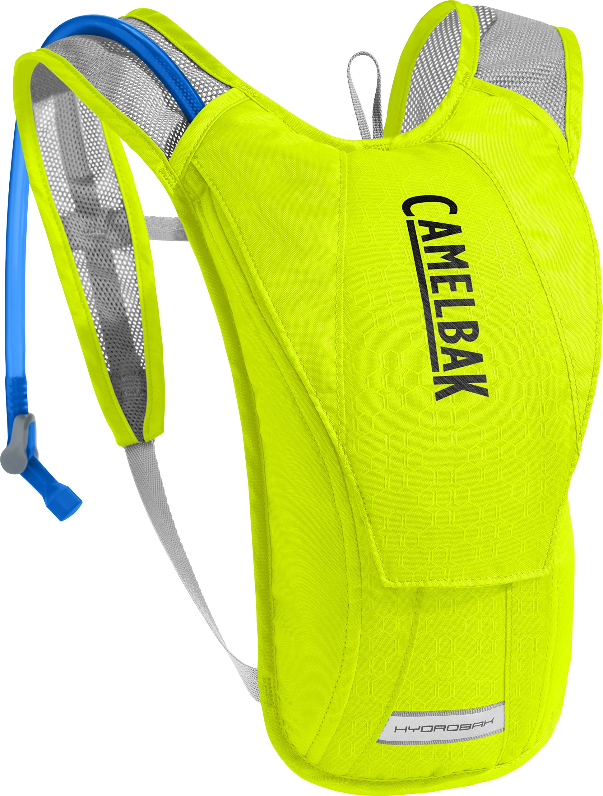 CamelBak HydroBak Crux Reservoir Hydration Pack, Lime Punch/Silver, 1.5 L/50 oz by CamelBak