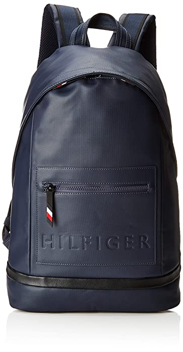 Tommy Hilfiger - Offshore Backpack, Mochilas Hombre, Azul (Tommy Navy/Black)