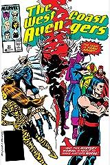 Avengers West Coast (1985-1994) #37 Kindle Edition