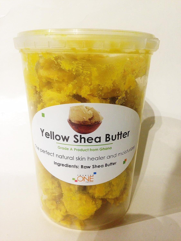 16 OZ/1 LB Premium High Quality Shea Butter Unrefined Yellow Raw Organic