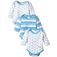 Twins Unisex Baby Langarm-Body im 3er Pack