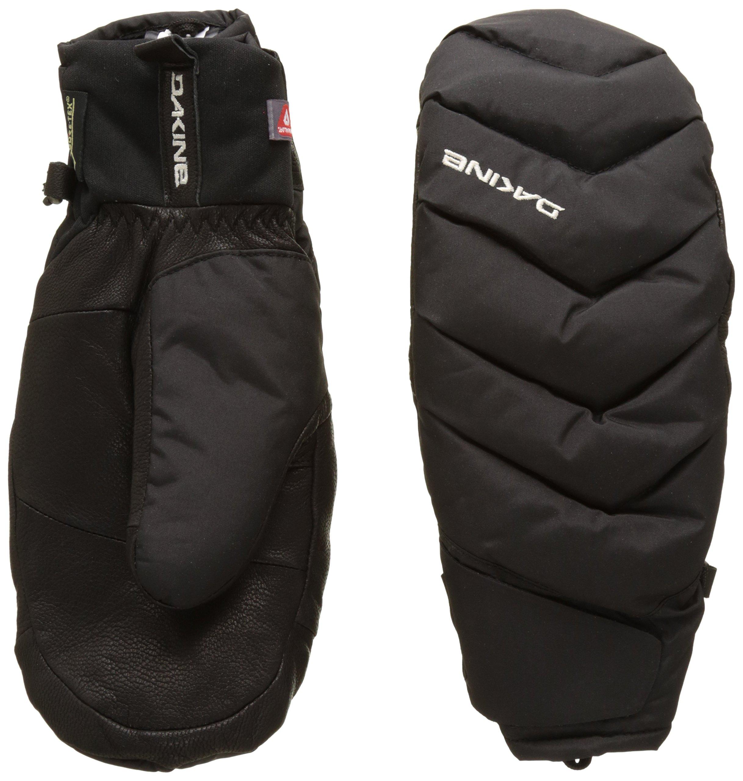 Dakine Women's Tundra Mitt Waterproof Gloves, Black, L