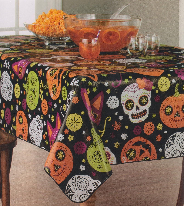 Halloween Vinyl Tablecloth