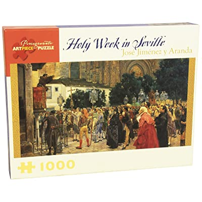 Holy Week in Seville: 1000 Piece Puzzle: Pomegranate Communications, Inc.: Toys & Games