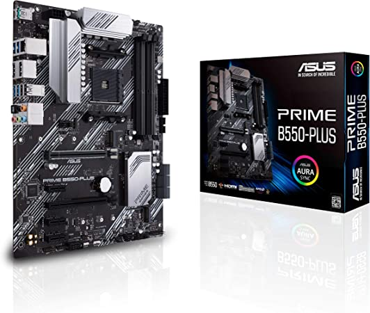 Asus Prime B550 Plus Gaming Motherboard Socket Am4 Computers Accessories