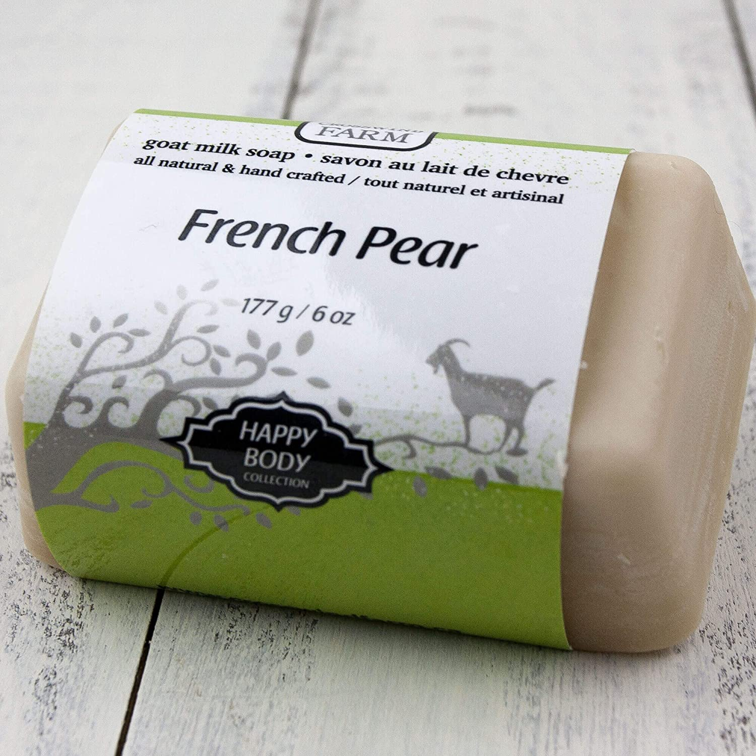 French Pear Goat Milk Soap
