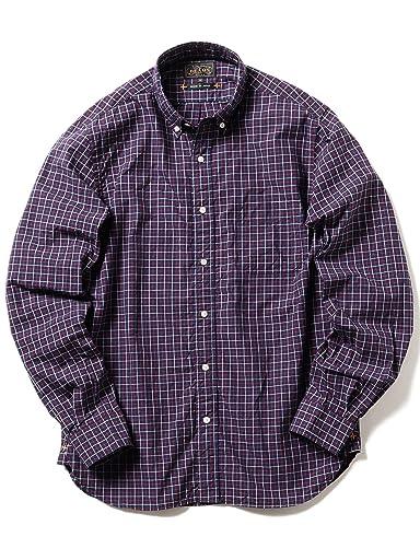 Tattersall Buttondown Shirt 11-11-5205-139: Navy