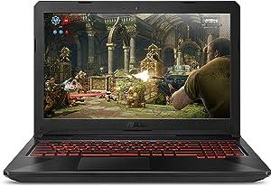 "Asus TUF Gaming Laptop FX504 15.6"" Full HD IPS-Level, 8th Gen Intel Core i5-8300H (Up to 3.9GHz), GeForce GTX 1050, 8GB DDR4 2666MHz, 256GB M.2 SSD, Gigabit WiFi, Windows 10 - FX504GD-NH51"
