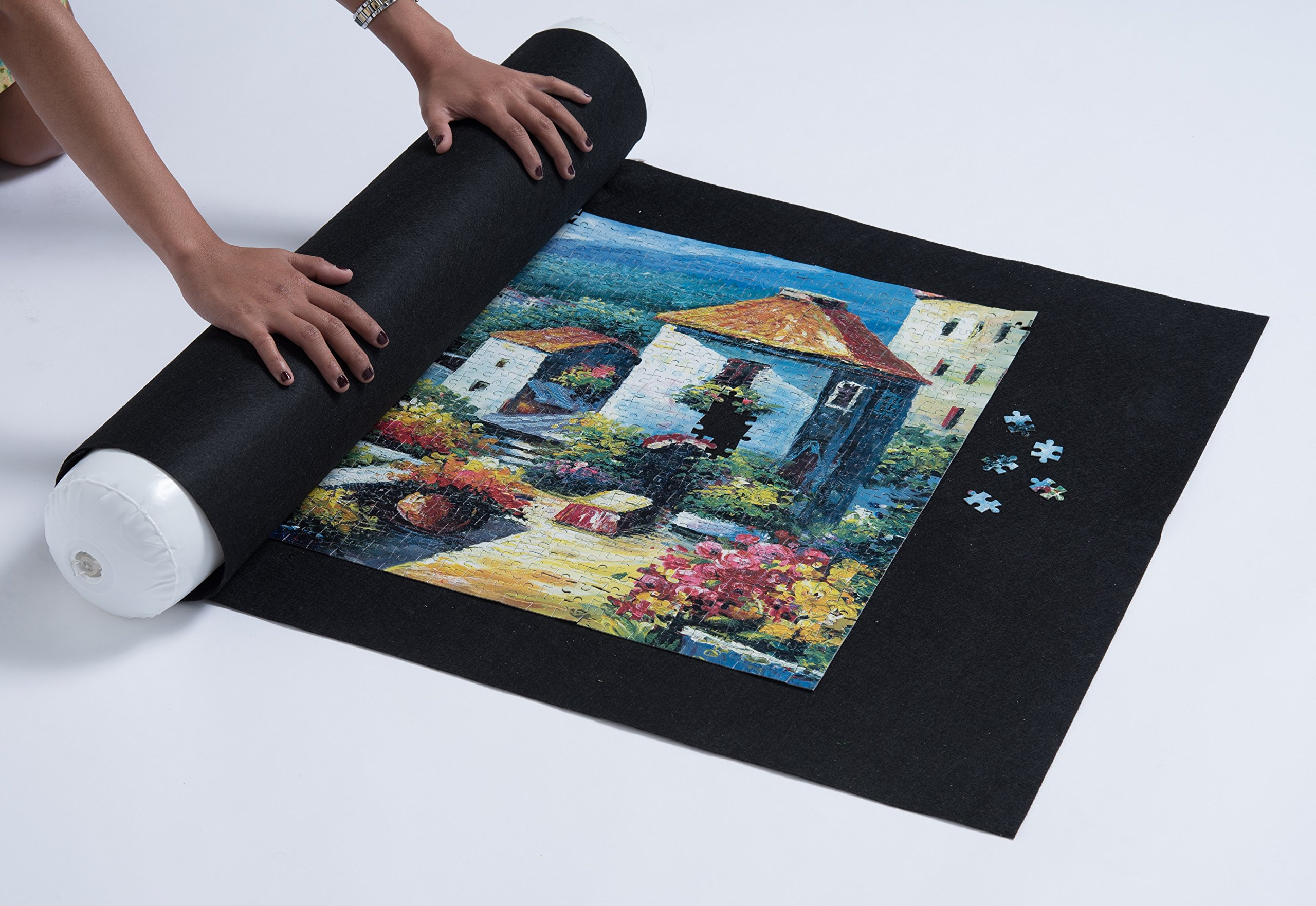 PuzzlePal Jigsaw Puzzle Mat - Portable Puzzle Board