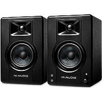 M-Audio BX3-120 watt aangedreven desktop computer luidsprekers/studiomonitors voor gamen, muziekproductie, live streamen…