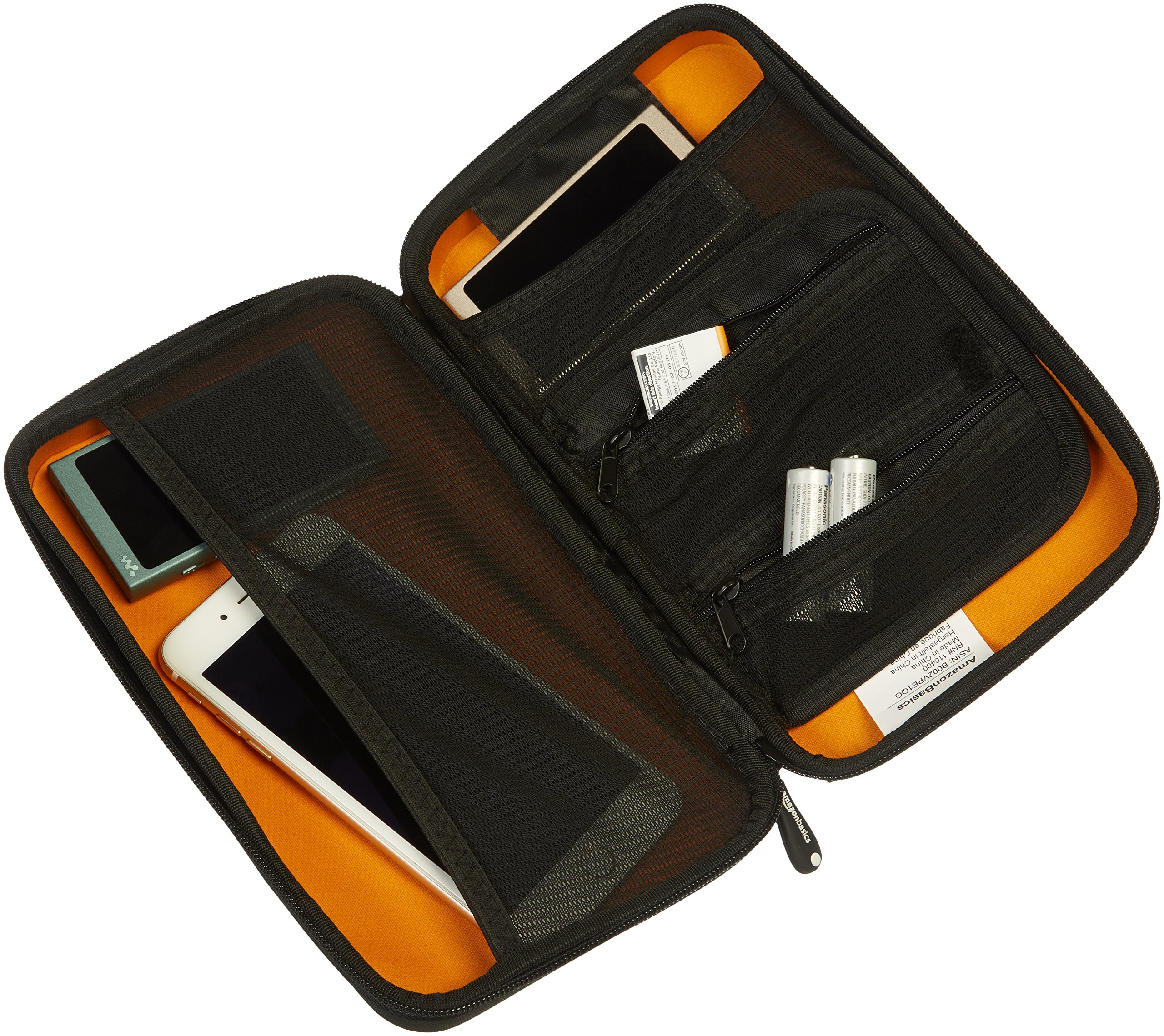 AmazonBasics Universal Travel Case for Small Electronics and Accessories, Black by AmazonBasics (Image #4)