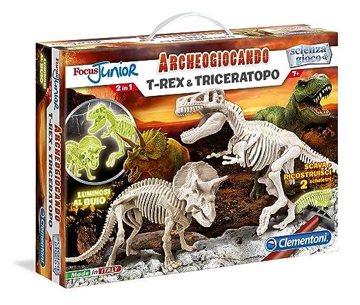 47 opinioni per Clementoni 13902- Focus T-Rex & Triceratopo