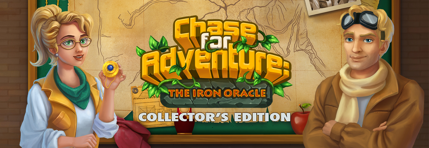 Chase for Adventure: The Iron Oracle Collector's Edition [Download]